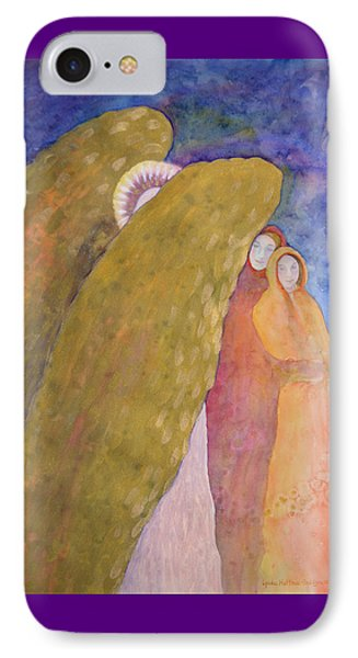 Under The Wing Of An Angel IPhone Case by Lynda Hoffman-Snodgrass