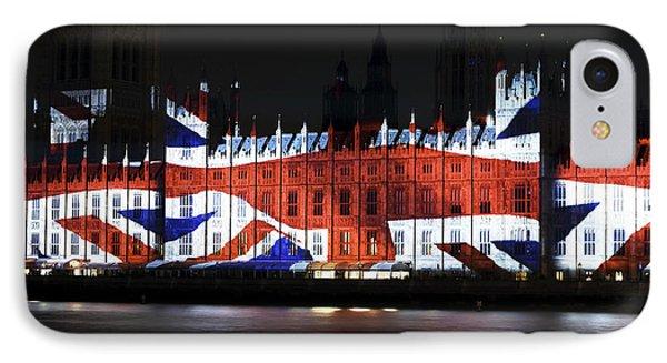 Union Jack Phone Case by John Rizzuto