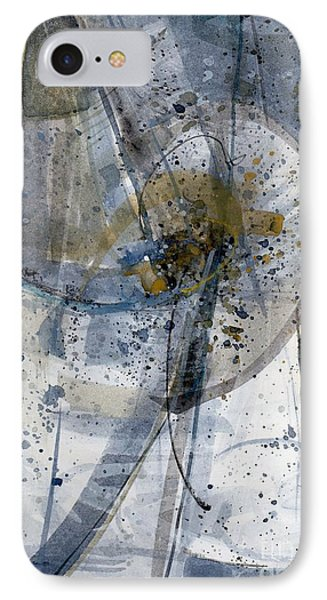IPhone Case featuring the painting Untitled - Abstract by Robert Anderson