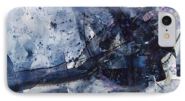 Untitled Abstraction IPhone Case by Robert Anderson