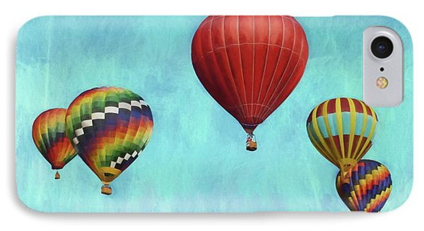 IPhone Case featuring the photograph Up Up And Away 2 by Benanne Stiens