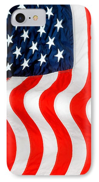 U.s. Flag IPhone Case by George Robinson