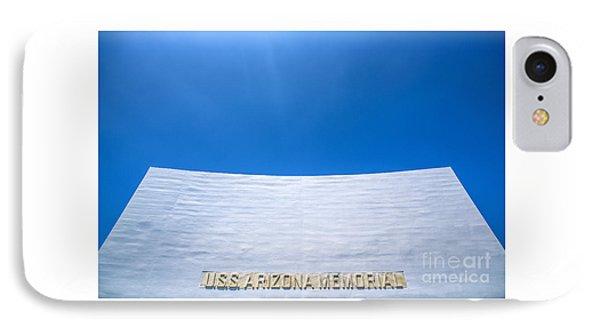 Uss Arizona Memorial IPhone Case by Diane Diederich