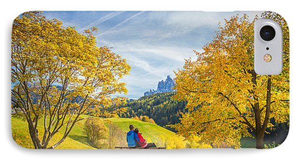 Val Di Funes, Italy IPhone Case