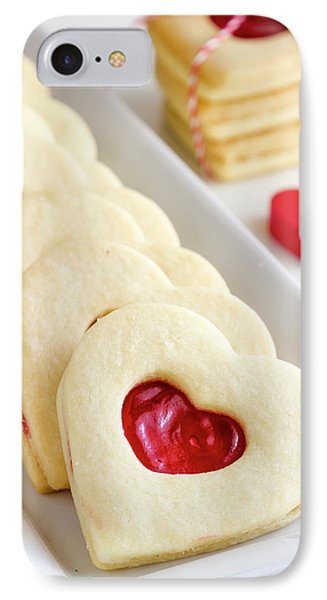 IPhone Case featuring the photograph Valentines Day Treats by Teri Virbickis