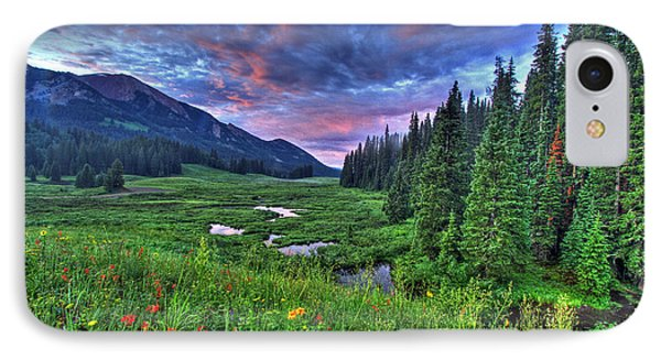 Valley View IPhone Case by Scott Mahon