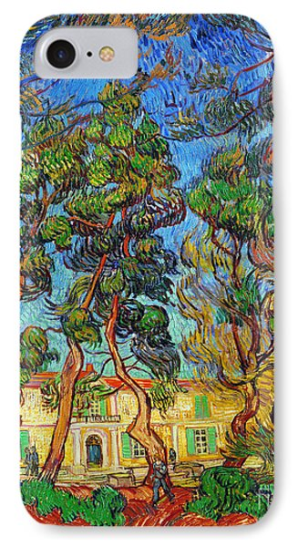 Van Gogh: Hospital, 1889 Phone Case by Granger