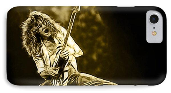 Van Halen Eddie Van Halen Collection IPhone Case by Marvin Blaine