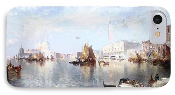 Venetian Grand Canal Phone Case by Thomas Moran