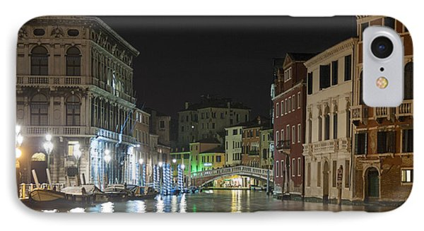 IPhone Case featuring the photograph Romantic Venice  by Silvia Bruno