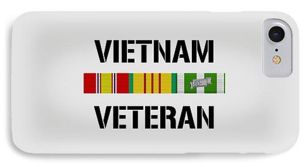 Vietnam Veteran Ribbon Bar IPhone Case