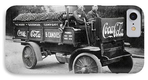 Vintage Coke Delivery Truck IPhone Case