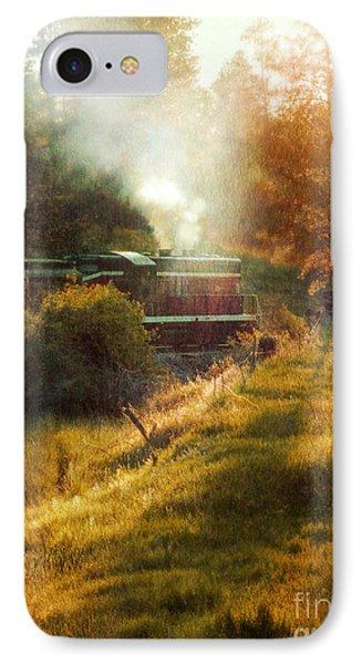 Vintage Diesel Locomotive Phone Case by Jill Battaglia
