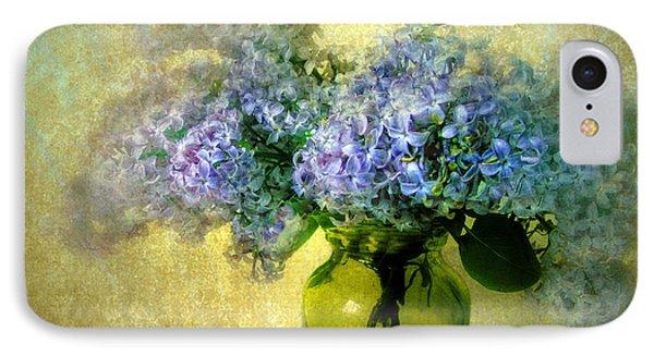Vintage Lilac IPhone Case by Jessica Jenney