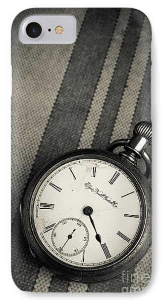 IPhone Case featuring the photograph Vintage Pocket Watch by Edward Fielding