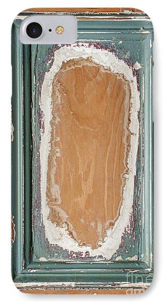 Vintage Wooden Door Panel  IPhone Case by Elena Elisseeva