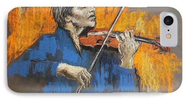 Violinist IPhone Case by Debora Cardaci