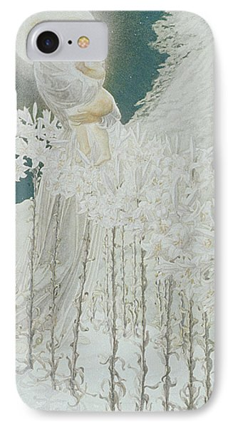 Virgin Of The Lilies IPhone Case