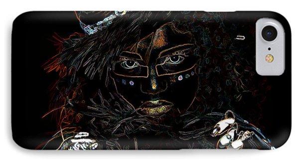 Voodoo Woman IPhone Case