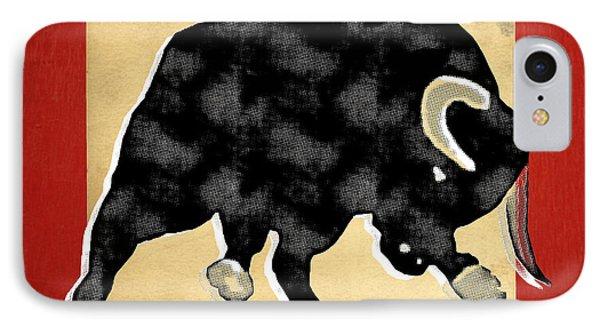 Wall Street Bull Market Series 2 IPhone Case by Edward Fielding
