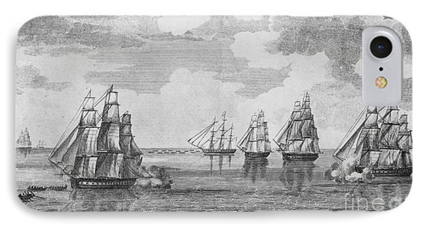 War Of 1812: Sea Battle IPhone Case by Granger