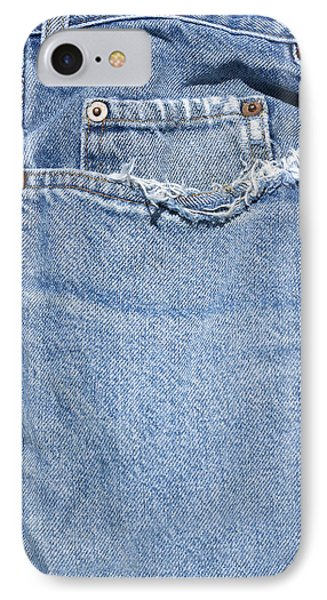 Worn Jeans IPhone Case