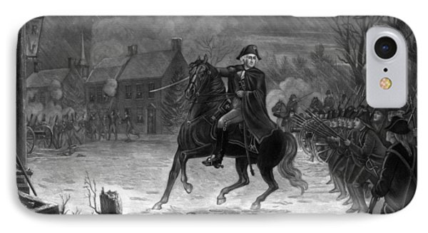 Washington At The Battle Of Trenton IPhone Case