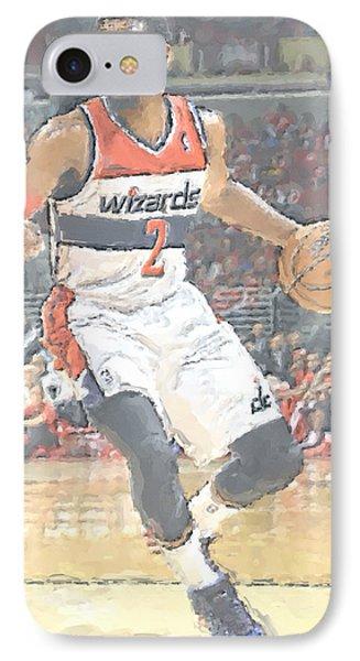 Washington Wizards John Wall IPhone 7 Case by Joe Hamilton