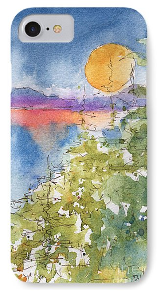Waskesiu Sunset Phone Case by Pat Katz