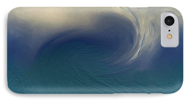 Water And Clouds IPhone Case by Linda Sannuti