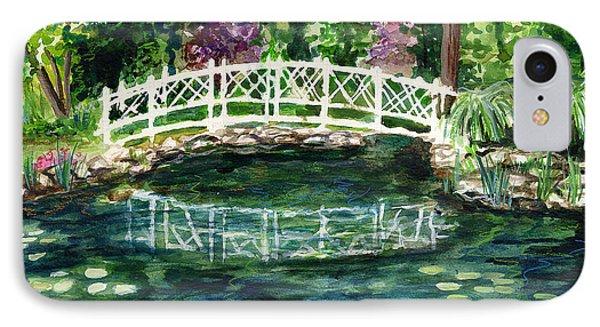 Water Lily IPhone Case by Clara Sue Beym