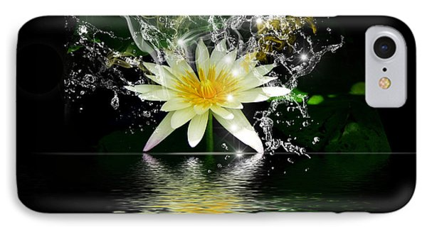 Water Lily IPhone Case by Gordon Engebretson