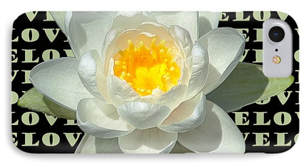 Water Lily Love IPhone Case