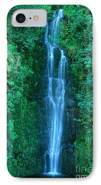 Waterfall Close-up IPhone Case by Bill Brennan - Printscapes