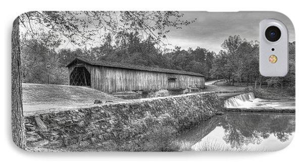 Watson Mill Covered Bridge 7 IPhone Case