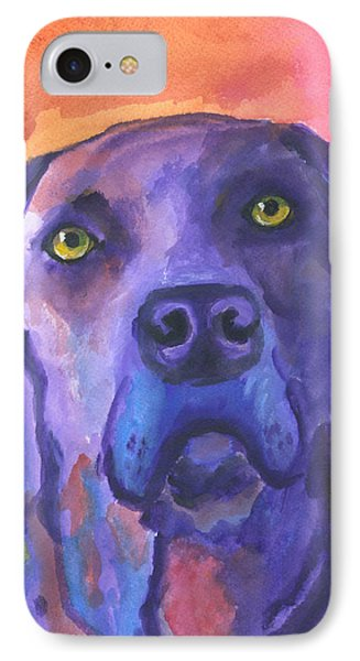Weimaraner Dog Art IPhone Case