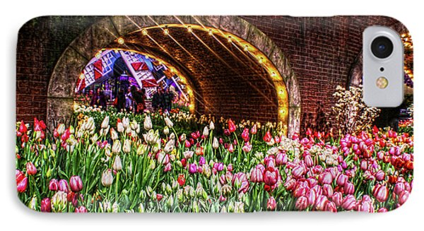 Welcoming Tulips IPhone Case