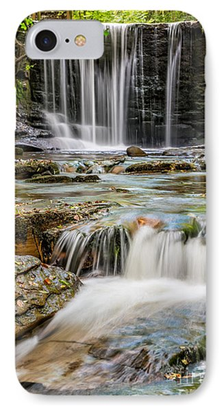 Welsh Waterfall IPhone Case