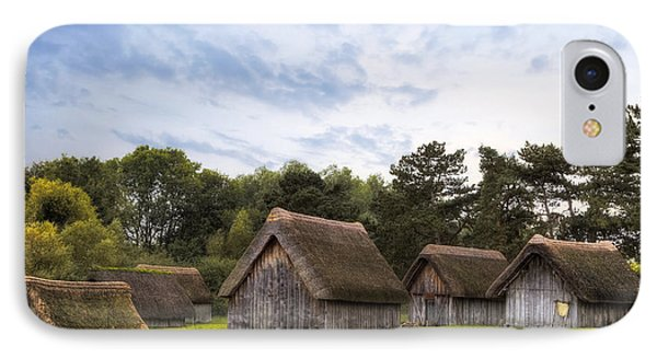 West Stow Anglo-saxon Village - England IPhone Case by Joana Kruse