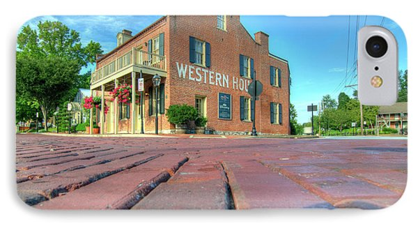 Western House IPhone Case by Steve Stuller