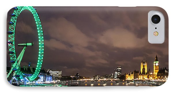 Westminster And The London Eye Phone Case by Dawn OConnor