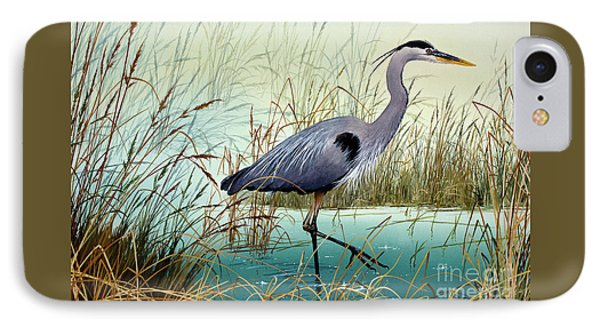 IPhone Case featuring the painting Wetland Beauty by James Williamson
