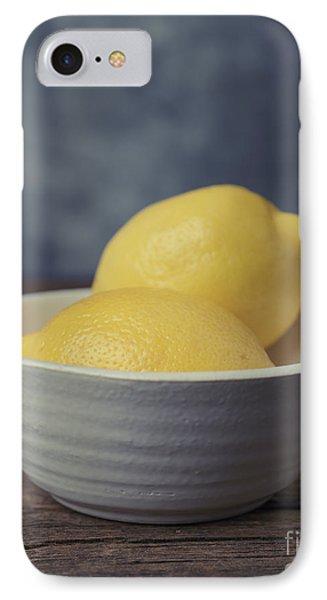 Lemon iPhone 7 Case - When Life Gives You Lemons by Edward Fielding