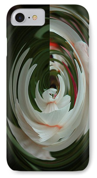 IPhone Case featuring the photograph White Form by Nareeta Martin