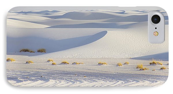 IPhone Case featuring the photograph White Sands New Mexico by Elvira Butler