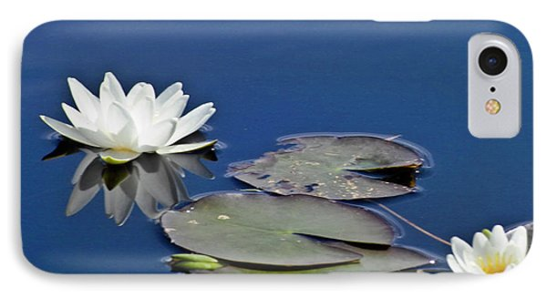 White Water Lily IPhone Case by Heiko Koehrer-Wagner