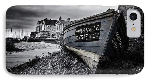 Whitstable Oysters IPhone Case by Ian Hufton