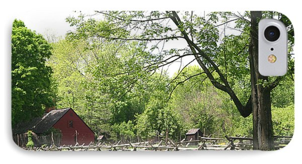 Wick Farm At Jockey Hollow IPhone Case by Living Color Photography Lorraine Lynch