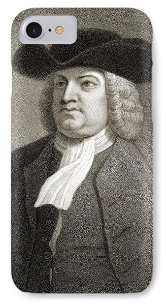 William Penn 1644-1718. English Quaker IPhone Case