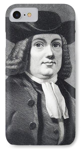 William Penn 1644 To 1718 English IPhone Case